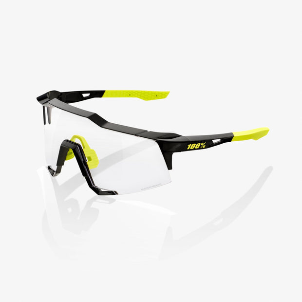 100% Speedcraft Sunglasses - Black