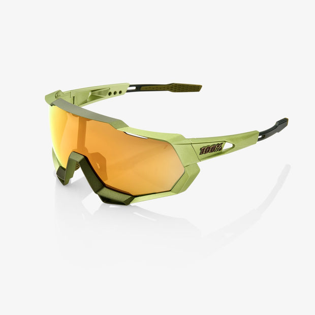 100% Speedtrap Sunglasses - Matte Metallic Viperidae