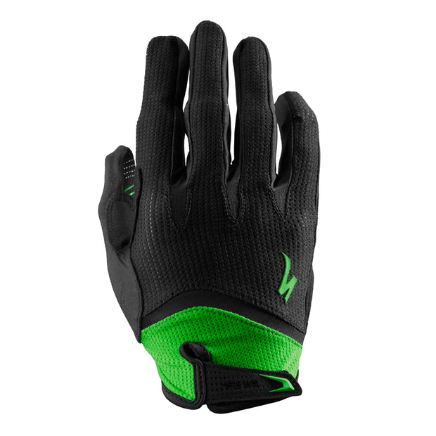 14 Specialized Gel Glove Long Finger - Monster Green