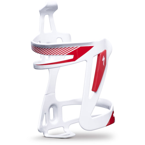 14 Specialized Zee Cage II Alloy - White/Red