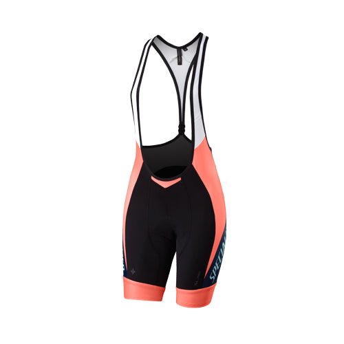 16 Specialized Rbx Pro Bib Short Women - Neon/Neon Yellow