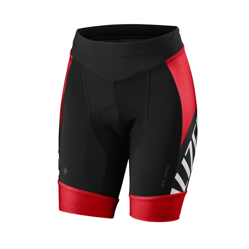 16 Specialized Sl Pro Short Women - Red/Black