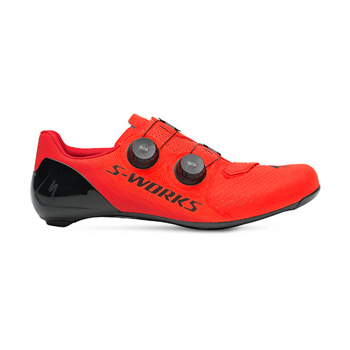 18 Specialize Sworks 7 Road Shoe - Red/Red