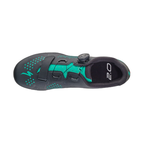 18 Specialized Torch 2.0 Woman Road Shoe - Black/Mint