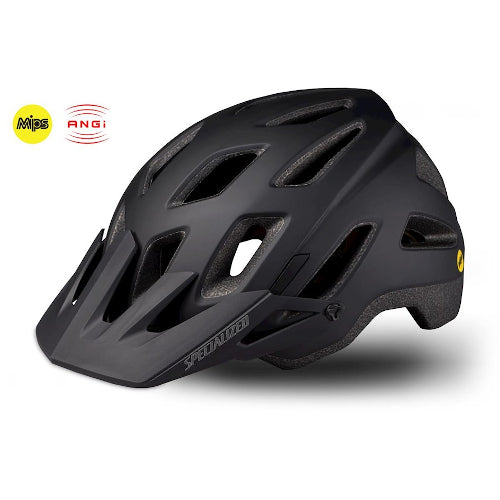 19 Specialized Ambush Comp Helmet Angi Mips CPSC - Black/Charcoal