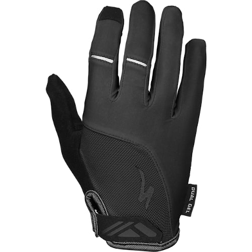 Specialized Bg Dual Gel Glove Long Finger Woman - Black