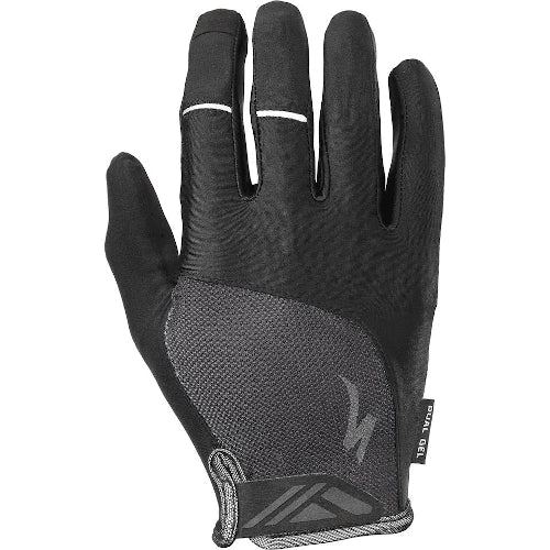 Specialized Bg Dual Gel Gloves Long Finger - Black