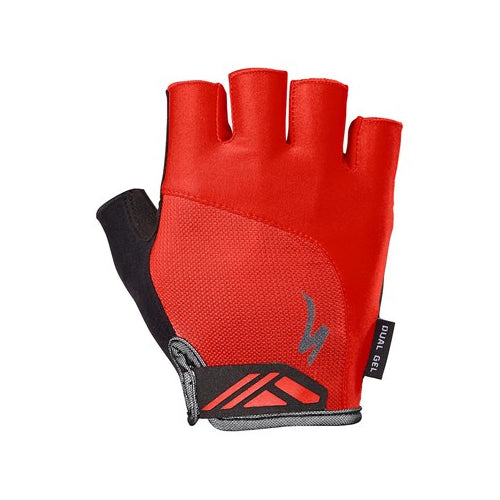 19 Specialized Bg Dual Gel Gloves - Red