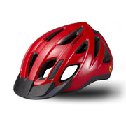 19 Specialized Centro Led Helmet - Red