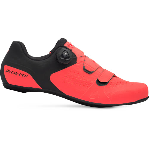 19 Specialized Torch 2.0 Road Shoe - Lava/Black