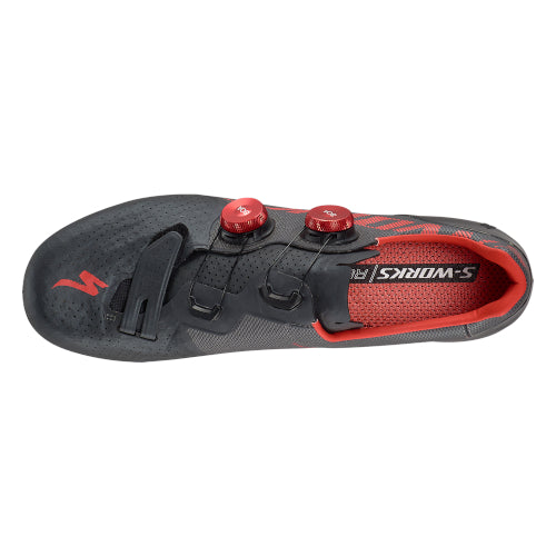 20 Specialized S-Works 7 Road Shoe - Black/Red