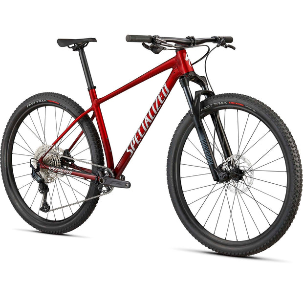 21 Specialized Chisel Comp - Red Tint Brushed/White