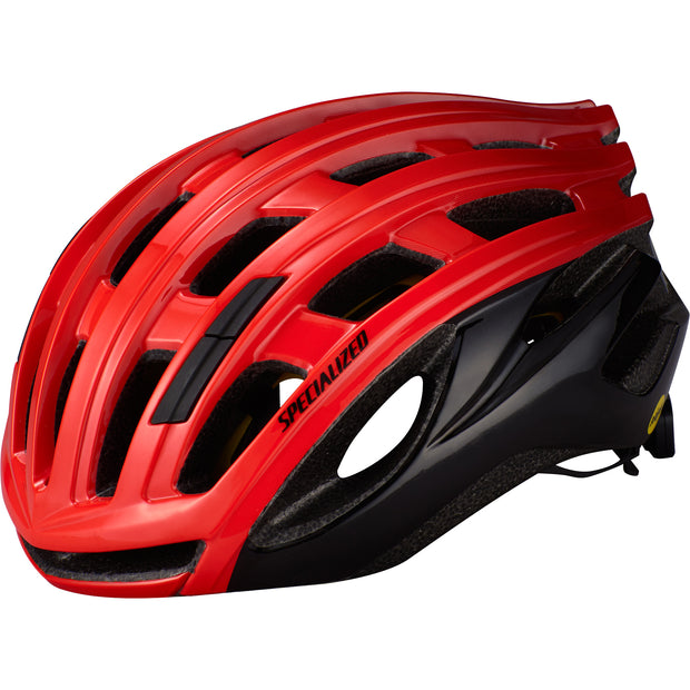 21 Specialized Propero 3 Helmet Cpsc - Red/Crimson/Black