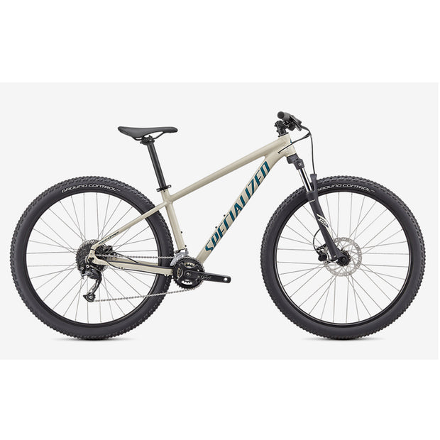 21 Specialized Rockhopper Sport 27.5 - White/Turquoise