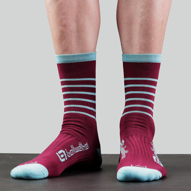 Bellwether Blitz Socks - BRG/ICE