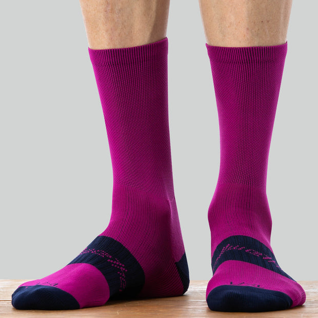 Bellwether Tempo Socks - FUCHSIA