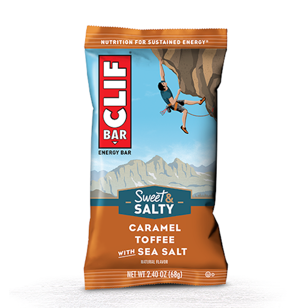 Clif Bar Original Energy Bar - Caramel Toffee