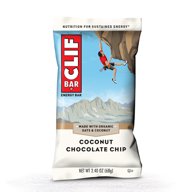 Clif Bar Original Energy Bar - Coconut Chocolate Chip