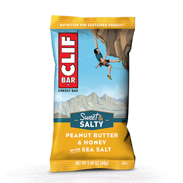 Clif Bar Original Energy Bar - Peanut Butter & Honey