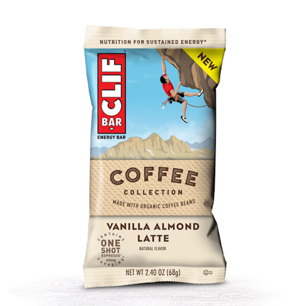 Clif Bar Original Energy Bar - Vanilla Almond Latte