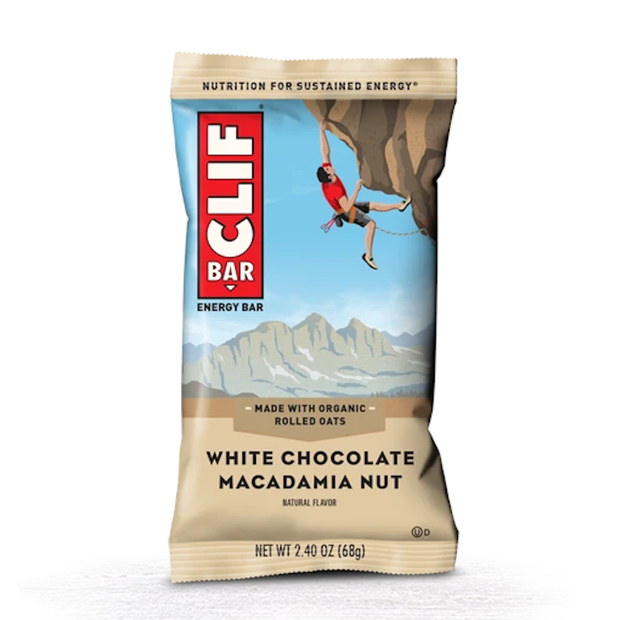 Clif Bar Original Energy Bar - White Chocolate Macadamia Nut