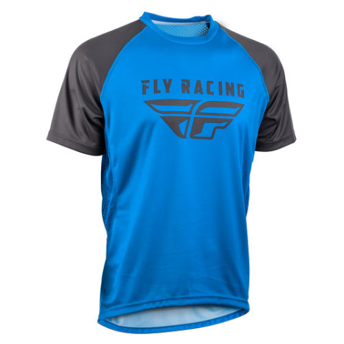 Fly Super D Jersey - Blue/Charcoal