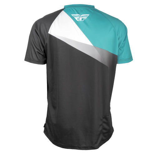 Fly Super D Jersey - Teal/Black/White