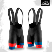 Gavia Bib Shorts - Blue/Red