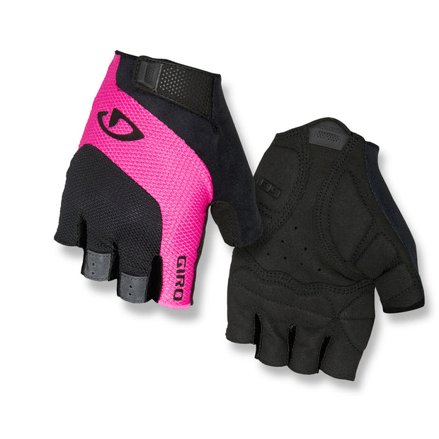 Giro Tessa Women Glove Short Finger - Black/Pink