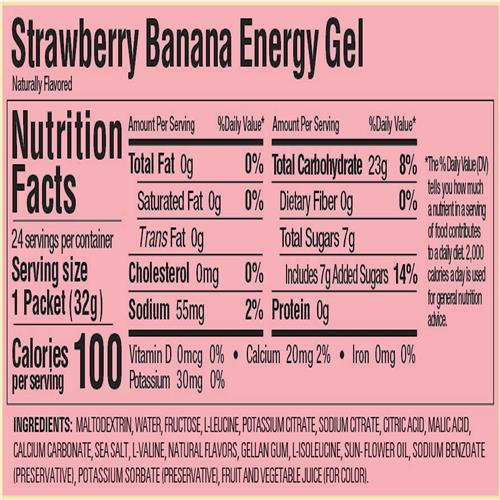 Gu Energy Gel - Strawberry/Banana
