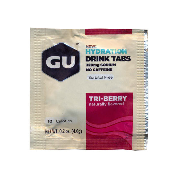 Gu Hydration Drink Tabs Singele Serving - Triberry