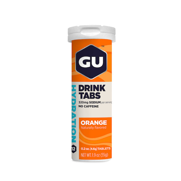 Gu Hydration Drink Tabs - ORANGE
