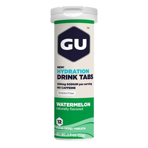 Gu Hydration Drink Tabs - WATERMEL
