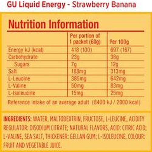 Gu Liquid Energy - STR/BAN