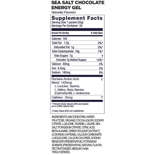 Gu Roctane Energy Gel - Salted Chocolate