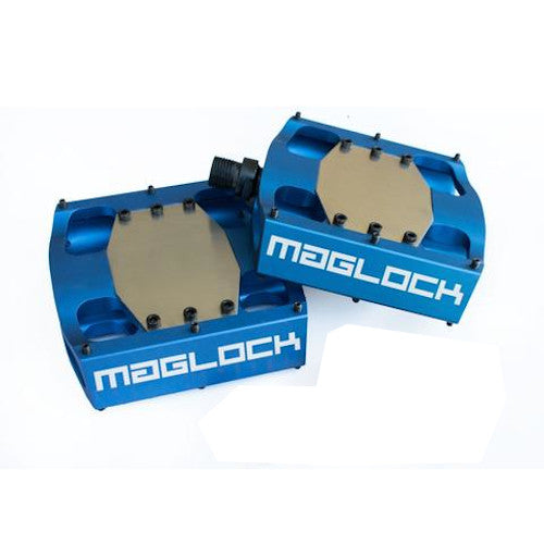 Maglock Fort Knox Magnetic Pedal - BLUE