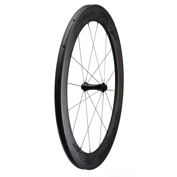 Roval CLX 64 Tubular Front Wheel - Carbon/Black