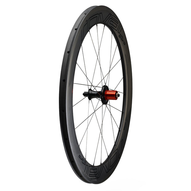 Roval CLX 64 Tubular Rear Wheel - Carbon/Black