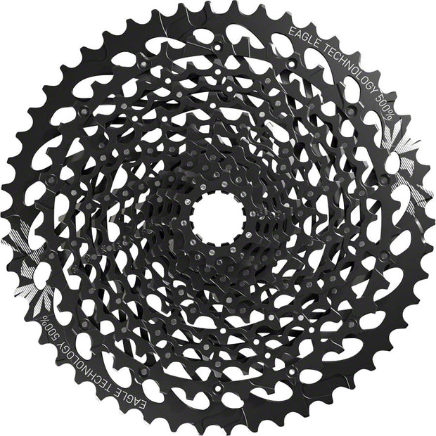 SRAM GX Eagle XG-1275 Cassette - 12 Speed, 10-50t, Black, For XD Driver Body - 12 Speed