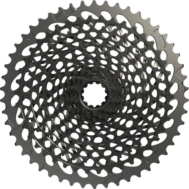 SRAM X01 Eagle XG-1295 Cassette - 12 Speed, 10-50t, Black, For XD Driver Body - BLACK