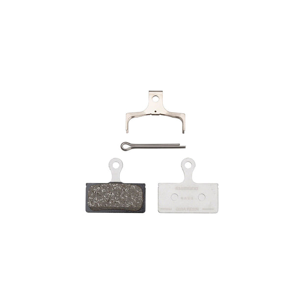 Shimano G03A Resin Disc Brake Pads - Resin, Aluminum Backed, Fits XTR BR-M9000/BR-M9020 and Deore XT BR-M8100/BR-M8120