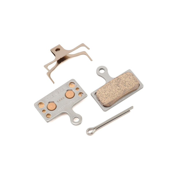 Shimano G04S Metal Disc Brake Pads - Fits XTR BR-M9020, XT BR- M8000,SLX BR-M675, SLX BR-M7000, Deore BR-M615, BR-R517, Alfine BR-S700