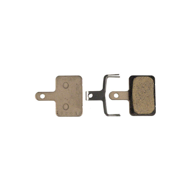 Shimano M05 Resin Disc Brake Pads and Spring for Deore BR-M515, BR- M515LA and Nexave BR-C601 Calipers