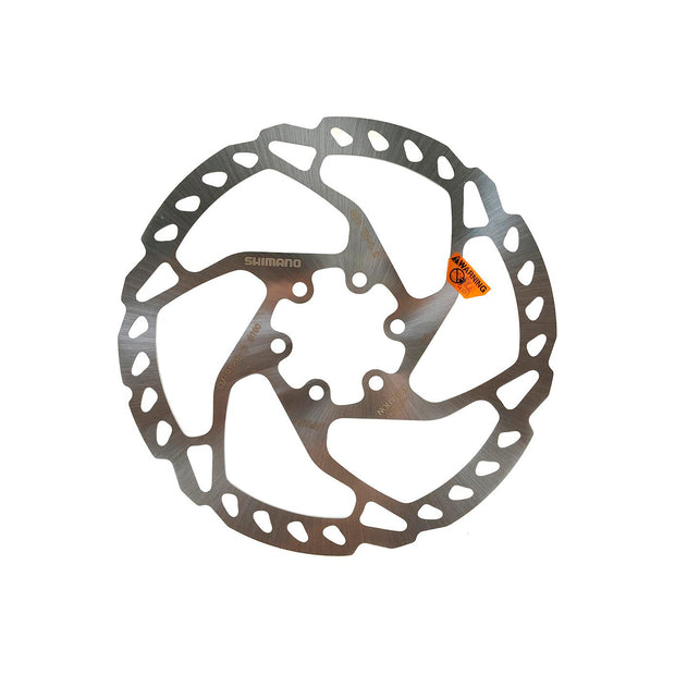 Shimano SLX SM-RT66-S Disc Brake Rotor - 180mm, 6-Bolt, Silver