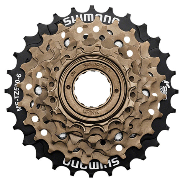 Shimano TZ500 6-Speed 14-28t Freewheel