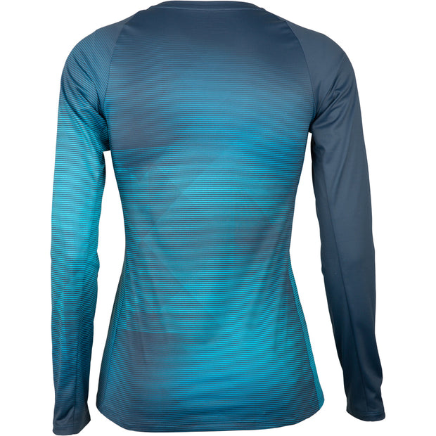 Specialized Andorra Air Jersey Long Sleeve Women - BL/AQ