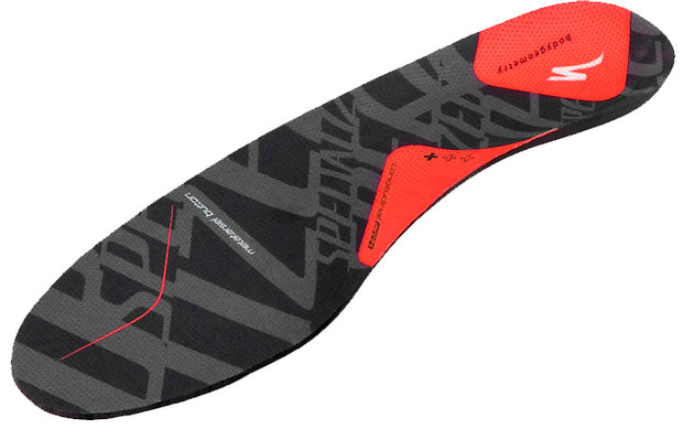 Specialized Body Geometry Footbed + - Red