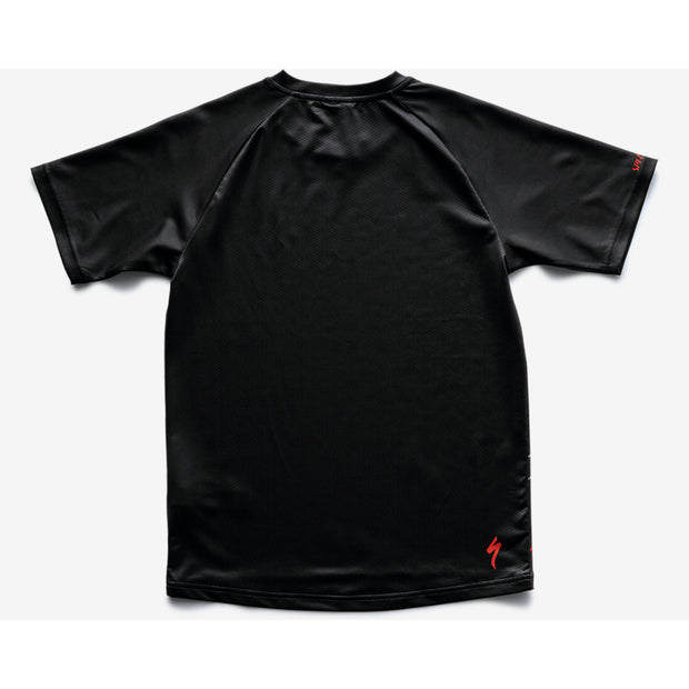 Specialized Enduro Grom Jersey Short Sleeve Youth - Black/Charcoal