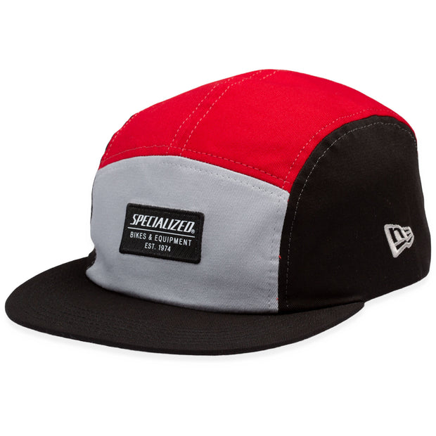 Specialized New Era 5 Panel Hat - Black/Red