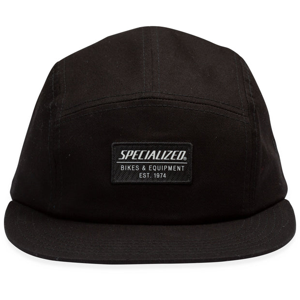 Specialized New Era 5 Panel Hat - Black